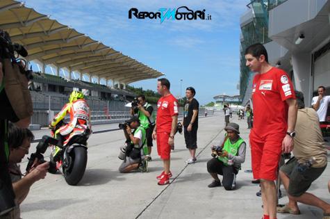 Test Sepang - MotoGP 2011