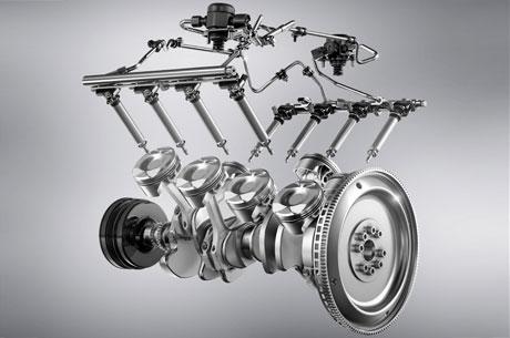 Nuovo motore V8 AMG da 5,5 litri