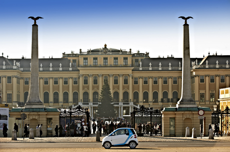 A Vienna parte il car2go