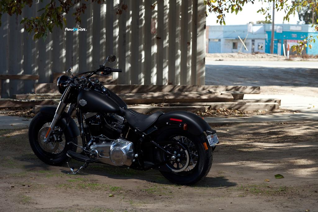 Harley Softail Slim >> Harley-Davidson Softail Slim 2012 - ReportMotori.it