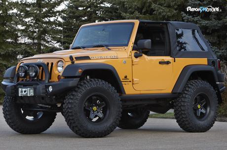 Jeep Wrangler Apache 2012 - ReportMotori.it
