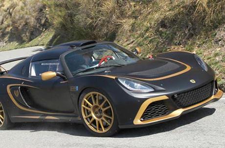 La Lotus Exige R-GT al Geko Ypres Rally