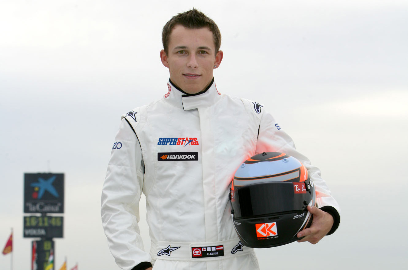 Christian Klien nella Superstars 2012