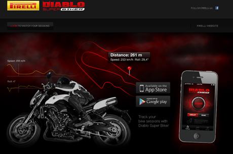 App Pirelli Diablo Super Biker
