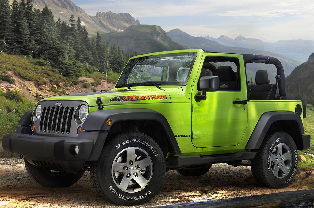 Jeep all'edizione 2012 del Salone Internazionale di Parigi