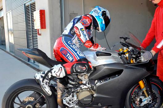 Carlos Checa - Ducati 1199 Superbike