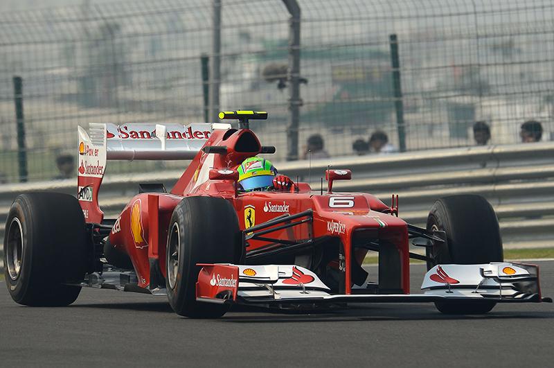 Felipe Massa conquista la terza fila al Gran Premio dell'India