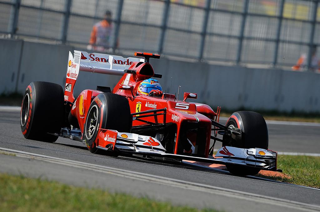Gran Premio India - Terzo tempo per Alonso