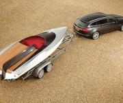 Concept Speedboat by Jaguar Cars e Jaguar XF Sportbrake