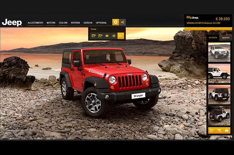 Debutta il car configurator Jeep