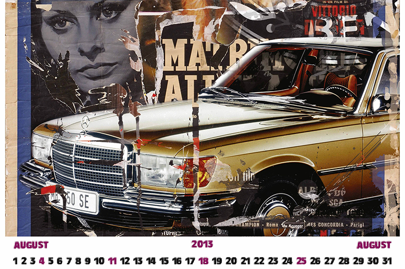 Calendario 2013 mercedes benz classic for Mercedes benz calendar