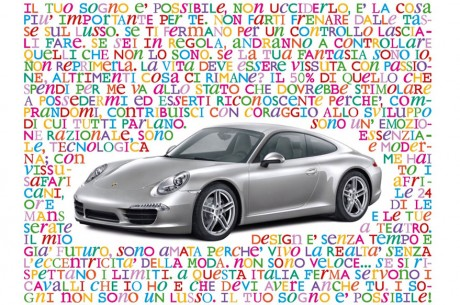 Porsche Italia e Oliviero Toscani
