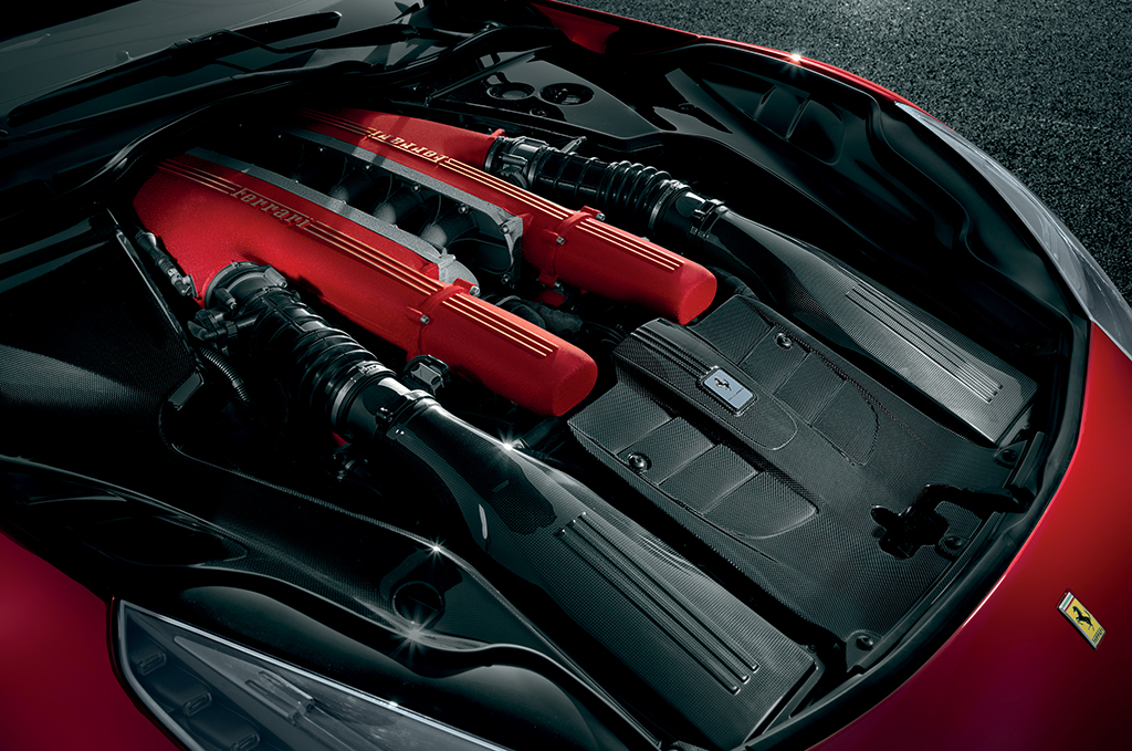 Ferrari F12berlinetta - Engine of the Year 2012