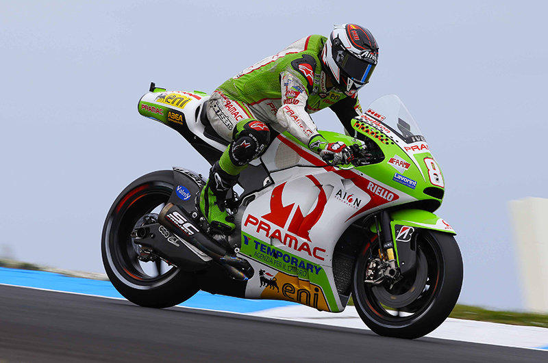 Team Pramac - Hector Barbera