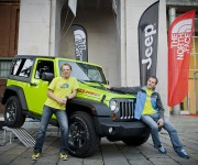 Jeep sponsor The North Face Speaker series