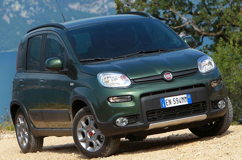 Motor Show di Bologna 2012 - Nuova Fiat Panda 4x4