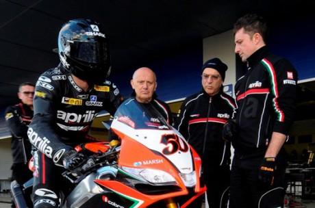 Sylvain Guintoli - Team Aprilia SBK 2013
