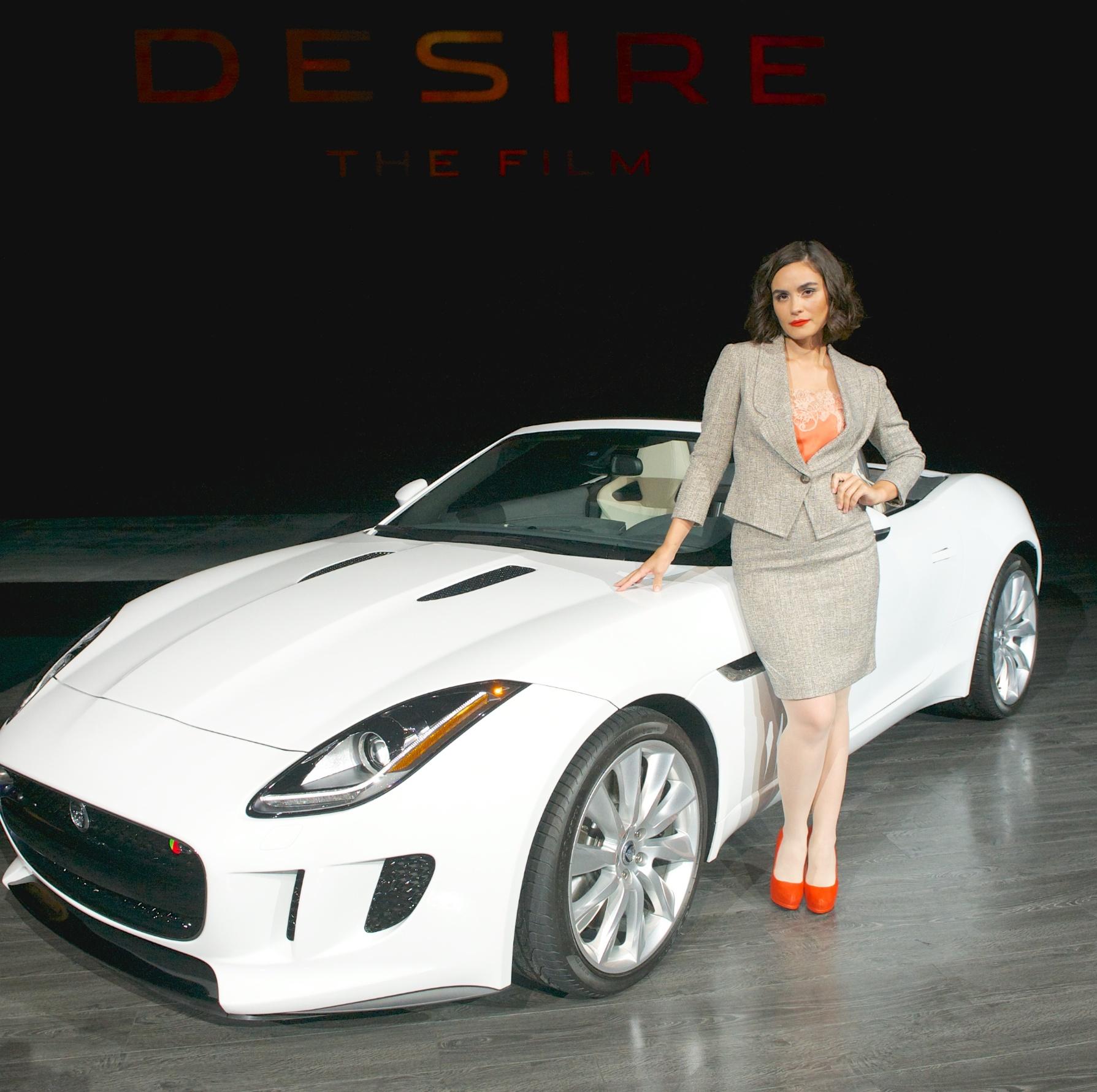 Jaguar F-Type da cortometraggio