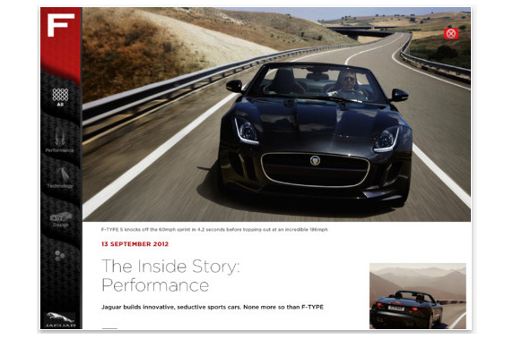 Jaguar F-TYPE Magazine
