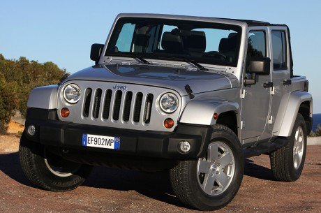 Jeep Wrangler Unlimited MY13