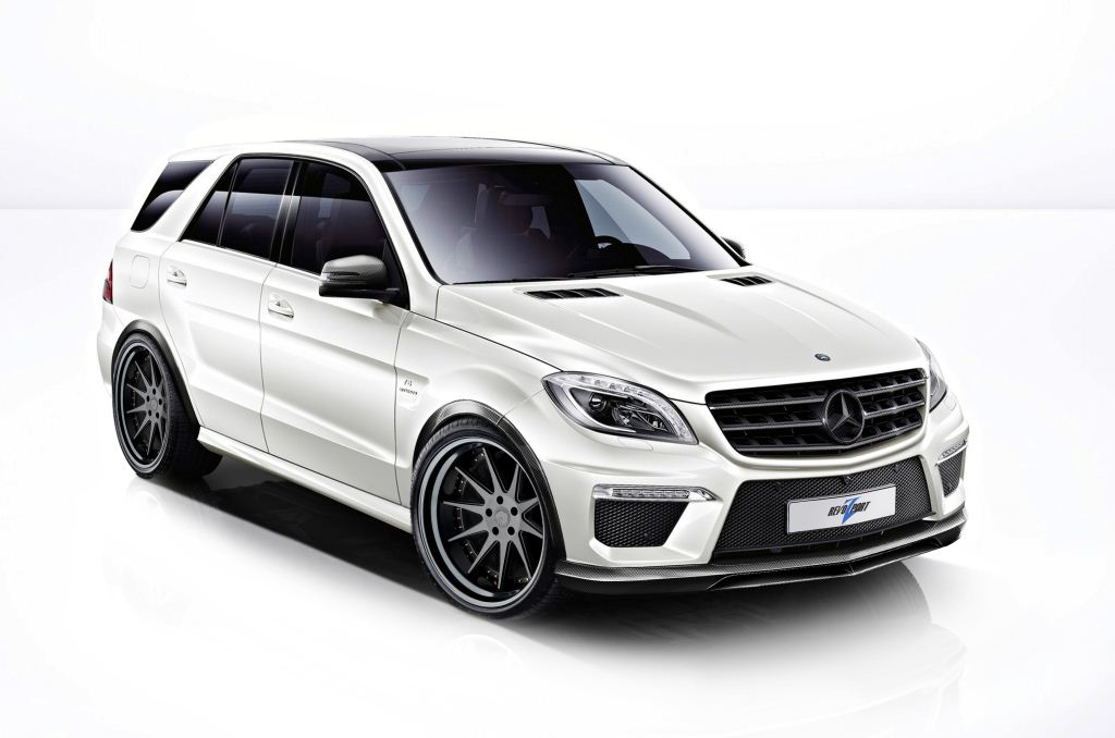 Mercedes ML 63 AMG by Rezonance