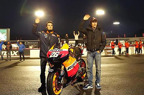Pedrosa e Marquez a Madrid per svelare la nuova RC213V 2013