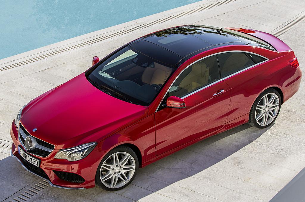 Mercedes classe e coupe nuovo modello for Mercedes benz credit score for lease