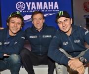 Valentino Rossi con Jorge Lorenzo