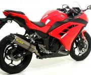Kawasaki Ninja 300 - Scarico Arrow