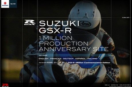GSX-R1000 1 Million