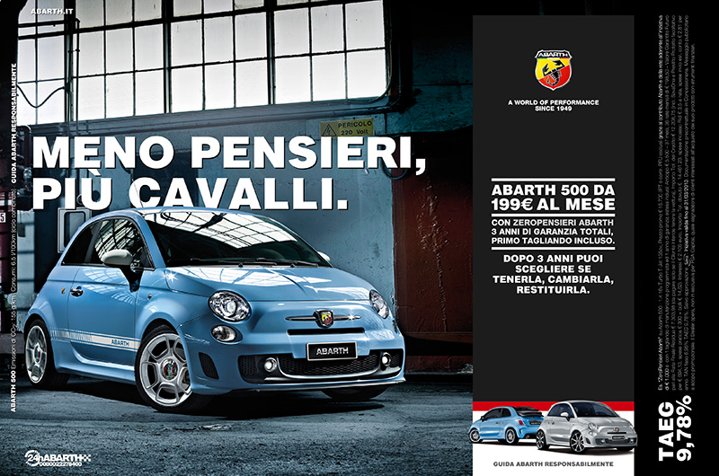 Abarth experience