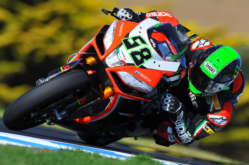 Eugene Laverty - Test SBK 2013 - Phillip Island