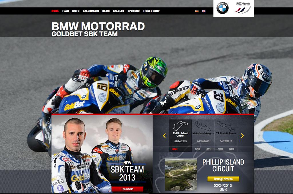 BMW Motorrad Goldbet SBK Team