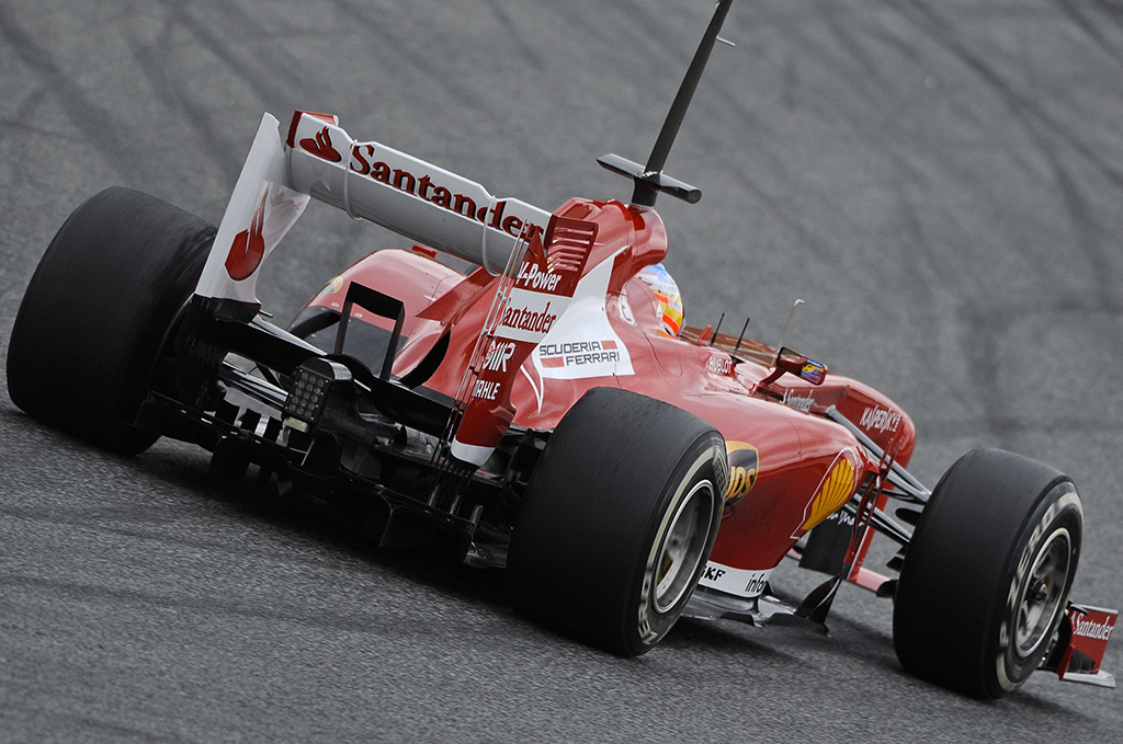 Fernando Alonso - Test Barcellona