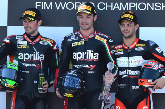 Sylvain Guintoli (Aprilia Racing Team)