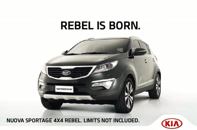 Kia Sportage 4x4 Rebel