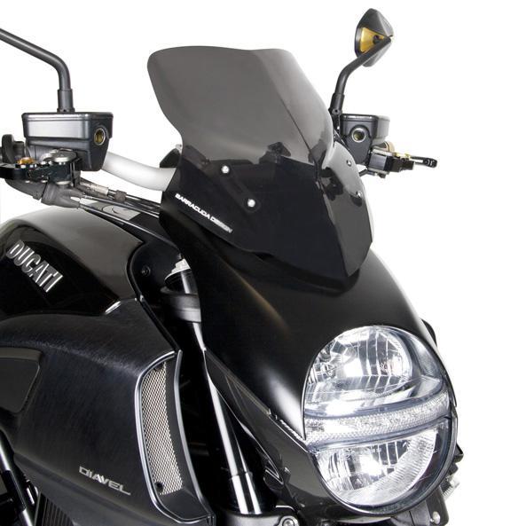 Ducati Diavel Barracuda Windscreen