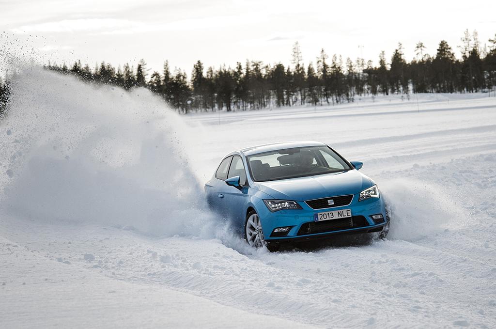 Nuova Leon SC - Test invernali