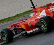 Fernando Alonso - Test Barcellona - Ferrari F138