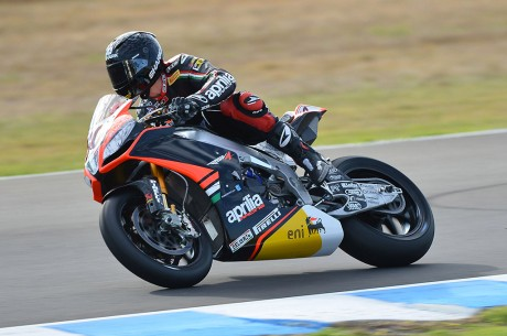 Test Aprilia Racing Jerez 2013