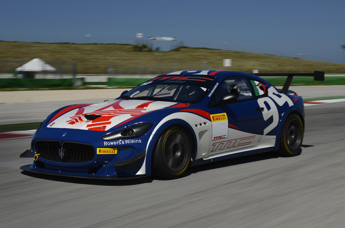 Maserati Trofeo MC World Series 2013