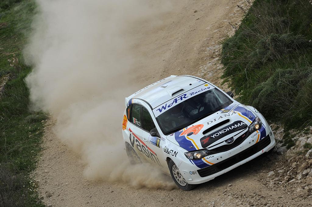 Rally Conca D'Oro 2013 – Prima tappa
