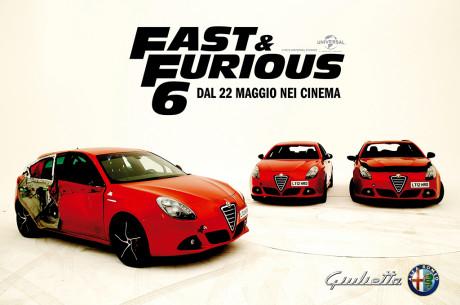Alfa Romeo Giulietta nuova star di Fast&Furious 6