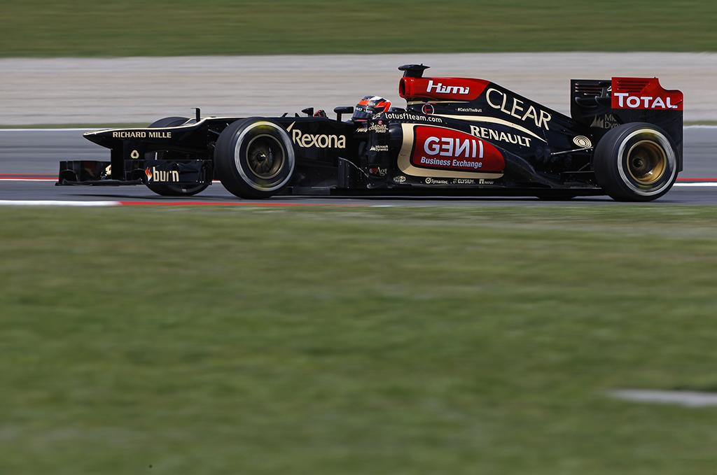 Un podio per Lotus F1 Team al Gran Premio di Spagna