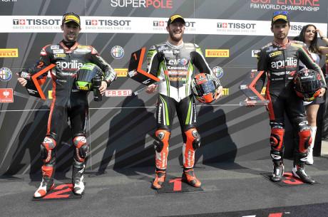 Tom Sykes conquista la Superpole a Monza