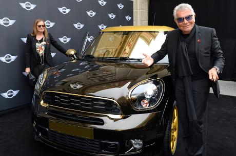 Roberto ed Eva Cavalli presentano la MINI Life Ball 2013