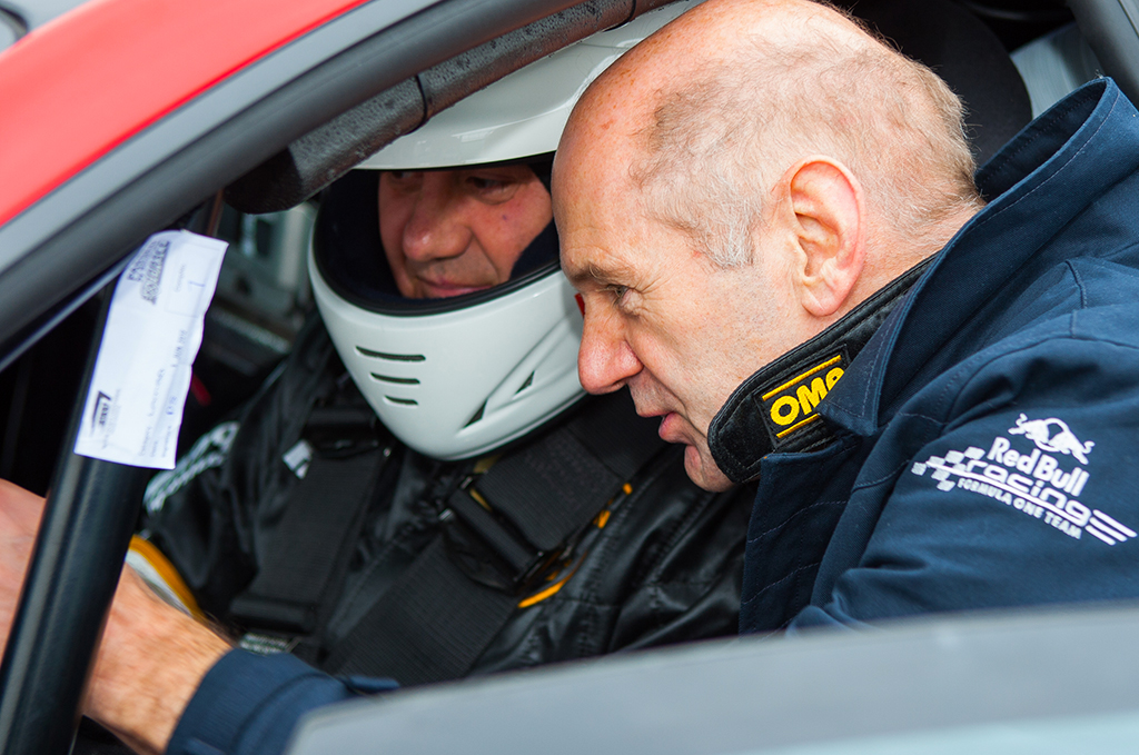 Adrian Newey correrà nel Lamborghini Blancpain Super Trofeo