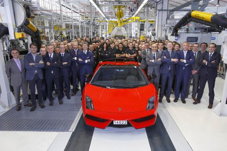 Lamborghini Gallardo: fine produzione