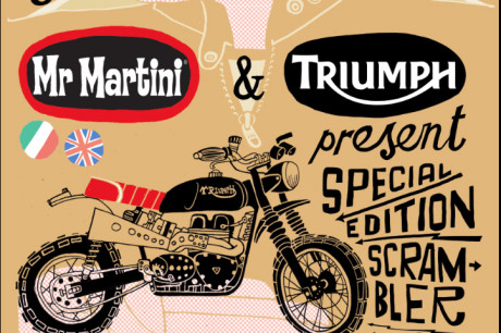 Triumph Motorcycles e Mr. Martini