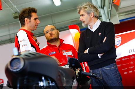 Dall'Igna - Team Ducati MotoGP